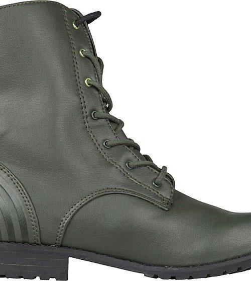Adidas Neo Military - дамски ботуши от естествена кожа - Leks.bg