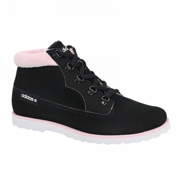 Adidas SENEO TAIGA - дамски зимни обувки - черно/розово - Leks.bg